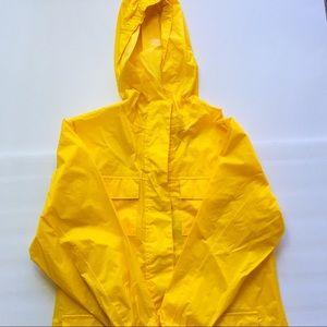 Vintage Disney Mickey Mouse Hooded Rain Jacket